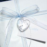 ご結婚祝い用 ハートのクリスタル